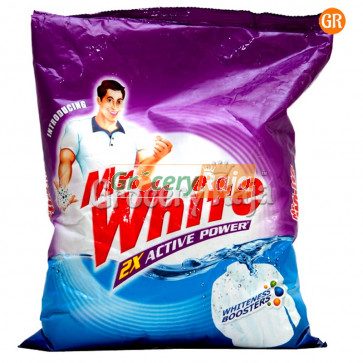 Mr. White 2X Active Detergent Powder 1 Kg