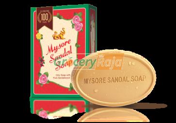 Mysore Sandal Bathing Soap - Pure Sandalwood Oil 150 gms (Pack of 3)