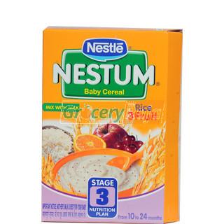 Nestle Nestum Rice 3 Fruit Stage 3 300 gms