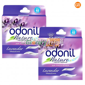 Odonil Lavender Meadows Air Freshener Combi Pack 2 X 75 gms