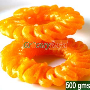 Ordinary Jaangiri - Jilebi (ஜாங்கிரி / ஜிலேபி) 500 gms