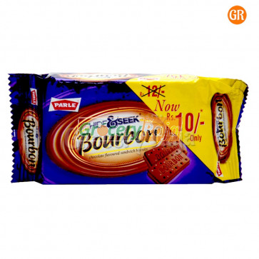 Parle Bourbon Kreams Chocolate Flavoured Biscuit Rs. 10