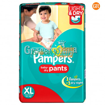 Pampers Disposable Diapers - Extra Large (12+ Kg) 5 pcs
