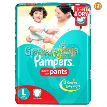 Pampers Pant Diaper - Large (9-14 Kg) 8 pcs