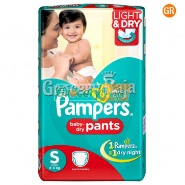 Pampers Pant Diaper - Small (4-8 Kg) 20 pcs