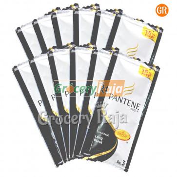 Pantene Long Black Shampoo Rs. 3 Sachet (Pack of 12)