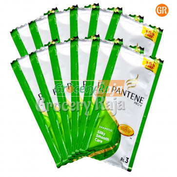 Pantene Silky Smooth Care Shampoo Rs. 3 Sachet (Pack of 12)