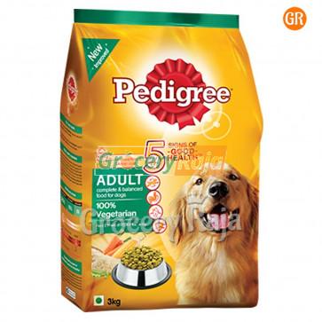 Pedigree Dog Food Vegetarian  - Adult 3 Kg