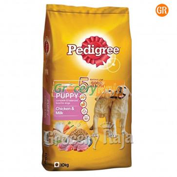 Pedigree Dog Food with Chicken & Milk - Puppies 10 Kg
