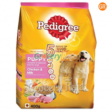 Pedigree Dog Food with Chicken & Milk - Puppies 400 gms
