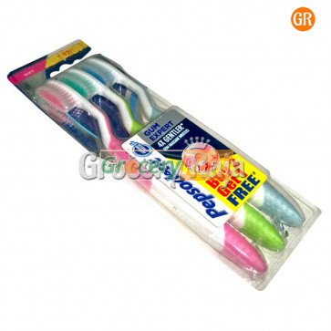 Pepsodent Gum Expert Toothbrush - Soft 2 pc + Buy 2 Get 1 Free
