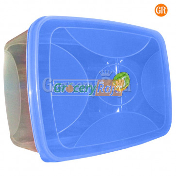 Plastic Box Storage Container 10 x 7 Inches No. 666 [8 CARDS]