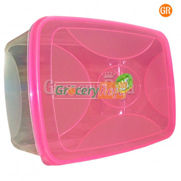Plastic Box Storage Container 9 x 6 Inches No. 555 [6 CARDS]