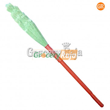Plastic Broom 1 pc [17 CARDS]
