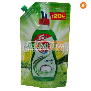 Pril Lime Liquid Dishwash Pouch 120 ml
