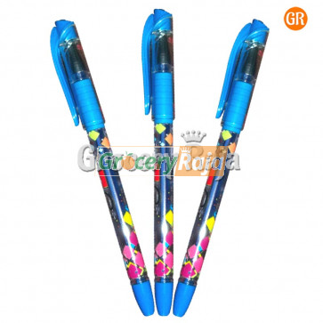 Rorito Racemax Gel Pen - Blue Rs. 10 (Pack of 3)