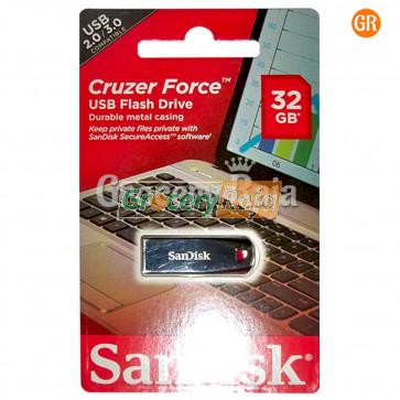 Sandisk Cruzer Force SDCZ71-032G-I35 32GB Flash Drive