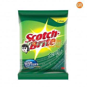 """Scotch Brite Scrub Pad 3"""" X 3"""" 1 pc Rs. 10"""