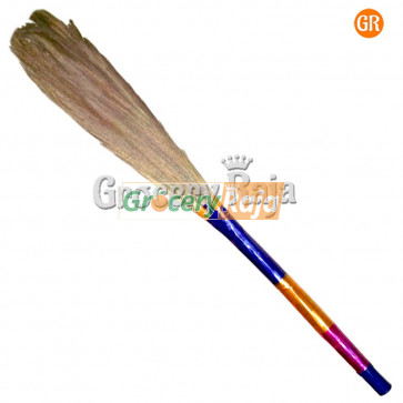 Sona Grass Broom for Tiles Floor 1 Pc [15 CARDS]