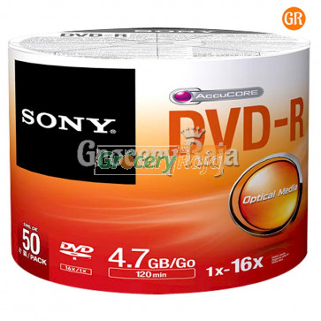 Sony DVD (Pack of 50)