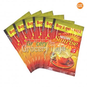 Nescafe Sunrise Coffee Rs. 5 Sachet (Pack of 6)