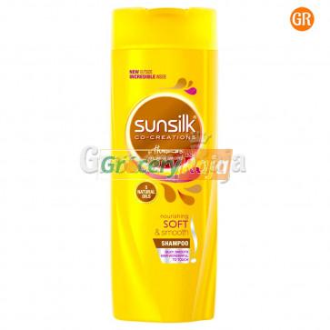 Sunsilk Nourishing Soft and Smooth Shampoo (Yellow) 340 ml