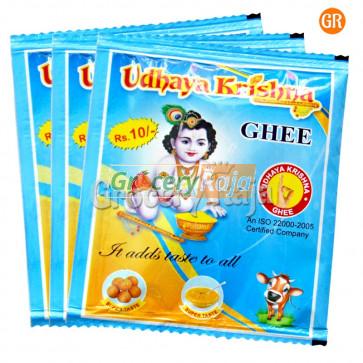 UdhayaKrishna Ghee Rs. 10 Sachet (Pack of 3)