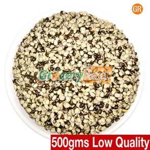 Black Ulutham Paruppu 2nd GRADE - (கருப்பு உளுந்து) 500 gms