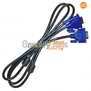 VGA Cable 1.5 Meters [7 CARDS]