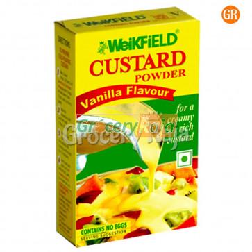 Weikfield Custard Powder - Vanilla Flavour 100 gms