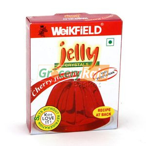 Weikfield Jelly Crystals - Cherry Flavour 90 gms
