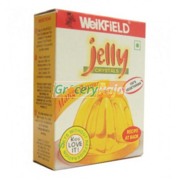 Weikfield Jelly Crystals - Orange Flavour 90 gms