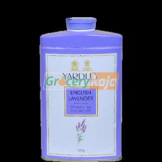 Yardley English Perfumed Talc - Lavender 100 gms