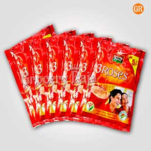 Brooke Bond Tea - 3 Roses Rs. 5 Sachet (Pack of 6)