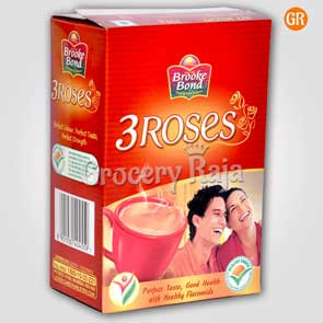 Brooke Bond Tea - 3 Roses 250 gms Carton
