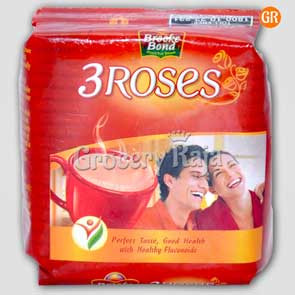 Brooke Bond Tea - 3 Roses 50 gms Pouch