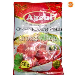 Aachi Chicken Kabab / Chicken 65 Masala 50 gms
