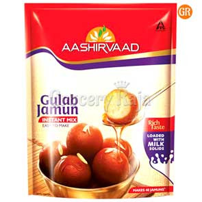 Aashirvaad Gulab Jamun Mix 200 gms