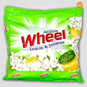 Active Wheel Detergent Powder - Lemon & Jasmine 500 gms
