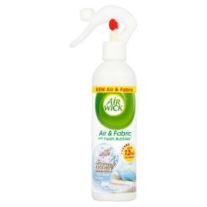 AirWick Air & Fabric - Fresh Bubbles Cool Linen & Lilac 345 ml