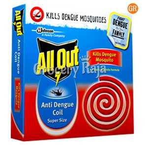 All Out Anti Dengue Coil Super Size 14 nos Carton