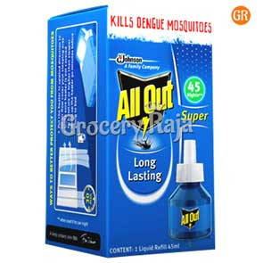 All Out Liquid Vaporizer Refill - 45 Nights 35 ml Carton