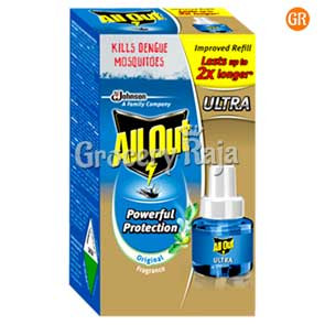 All Out Liquid Mosquito Repellent - Ultra Refill 45 ml Carton