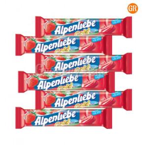 Alpenliebe Cream Strawberry Flavor Lollipop Rs. 3 (Pack of 6)