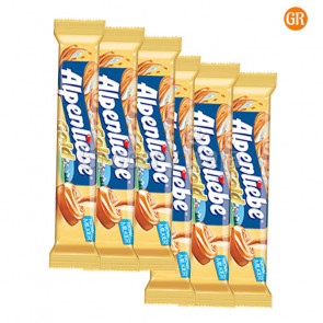 Alpenliebe Rich Milky Caramel Toffee Lollipop Rs. 3 (Pack of 6)