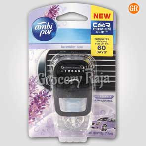 Ambi Pur Lavender Spa Car Air Freshener (45 Days)