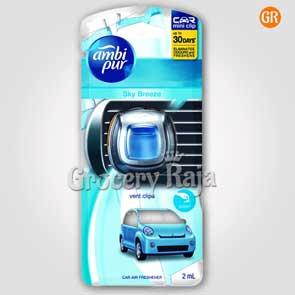 Ambi Pur Sky Breeze Vent Clip Car Air Freshener 2 ml