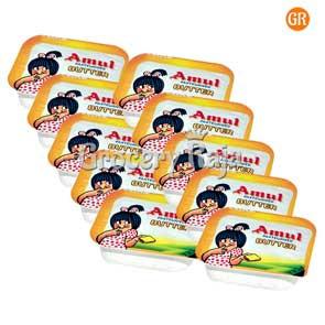 Amul Butter 20 g X 10 Chiplets 100 gms