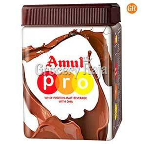 Amul PRO Whey Protein Malt Chocolate 500 gms Refill