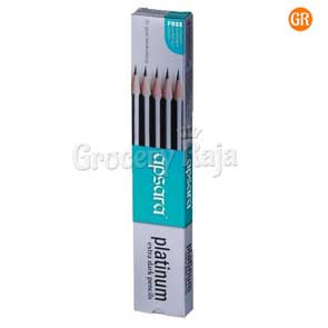 Apsara Platinum Extra Dark Pencils (Pack of 10)